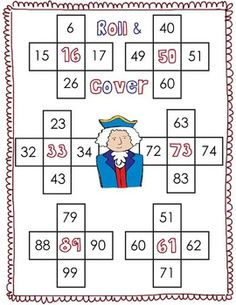 Great for President's Day National Symbols- Math Centers Common Core Pack- 10 more/less and 1 more/less
