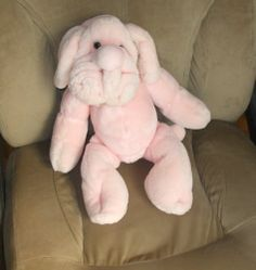 Ganz Bros Girl Shar Pei Wrinkles Hand Puppet RARE Pink Stuffed Plush Toy | eBay