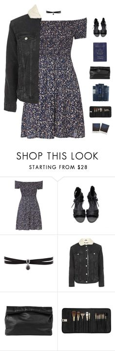 """""""Let's go out tonight"""" by genesis129 ❤ liked on Polyvore featuring Fallon, Topshop, Passport, Marie Turnor and Sephora Collection"""