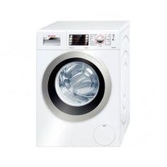 Bosch Home Professional Waschmaschine Frontlader / A+++ / 1400 UpM / 8 kg / Weiß / ActiveWater Plus / Ecosilence Drive Washing Machine Reviews, Bosch Washing Machine, Washing Machine And Dryer, Dryer Machine, Washing Machines, Compact Washer And Dryer, Best Dryer, Laundry Appliances, Tecnologia