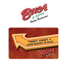 coupons - BUCA DI BEPPO Gift Card $25.00 FREE SHIPPING - http ...