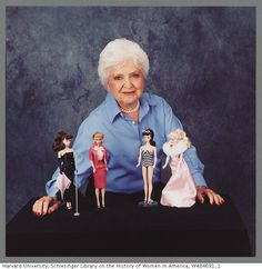 Ruth Handler and vintage Barbie dolls! Raise your hands if you only had ONE Barbie , your doll house was a cardboard box and the swiming pool was an ashtray! (PS mine was the one with the swiming suit!)