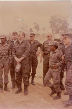 Soviets and Angolans in Angola.