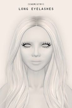Second Life Freebies and more: Long Eyelashes