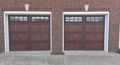 chi garage door accents mahogany - Google Search