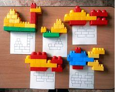 Лего-конструирование в детском саду: проведение занятия, схемы и прочее Montessori Activities, Preschool Activities, Legos, Teaching Kids, Kids Learning, Lego Therapy, Diy For Kids, Crafts For Kids, Lego Club