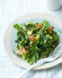 Kale-and-Avocado Salad Recipe on Food & Wine
