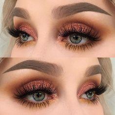 Top Trend 2018 eyebrow models & eye make-up - # eyes # eyebrows . - Augen Make-Up - Eye Make up Makeup Trends, Makeup Inspo, Makeup Inspiration, Makeup Ideas, Makeup Tutorials, Makeup Hacks, Makeup Geek, Eye Trends, Hair Tutorials