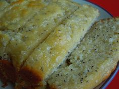 SUPER moist poppy seed bread