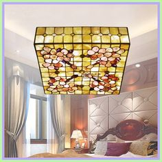 natural light lamp for bedroom-#natural #light #lamp #for #bedroom Please Click Link To Find More Reference,,, ENJOY!! Blue Couch Living Room, Living Room Decor, Bathroom Light Fixtures, Bathroom Lighting, Natural Light Lamp, Square Ceiling Lights, Shell, Sofa Styling, Ceiling Lamp