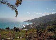 Coast of Ventimiglia, Liguria, Italy