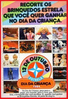 My Dolls Collection: Propaganda Dia das Crianças Estrela, 1984
