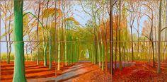 Woldgate Woods, 21, 23 and 29 November 2006 David Hockney