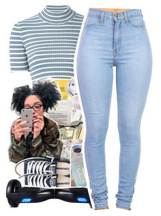"""""""2/16/16"""" by uniquee-beauty ❤ liked on Polyvore featuring Alessandra Rich, Converse and R2"""