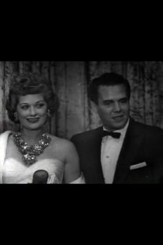 Lucy & Desi. She is wearing a Mariam Haskell Necklace Earring Set which is on display at Universal studios in Orlando