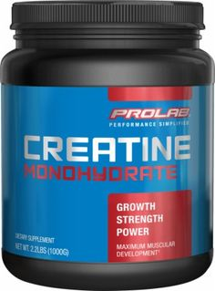 Prolab Creatine Monohydrate - 120 Servings - Unflavored.
