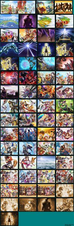 Cutscenes & Ending pokemon conquest