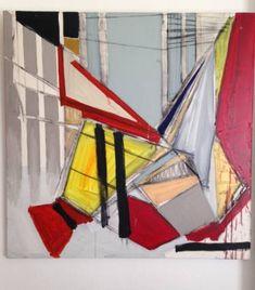 "Saatchi Art Artist Miguel Cabeza; Painting, ""'Columns'"" #art"
