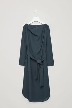 Front image of Cos ca lb topfloor dress in blue