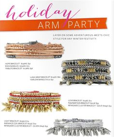 Great combination ideas from Stella & Dot.