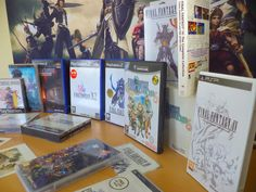 See Our Final Fantasy Goods Now in at www.rightsprite.co.uk