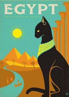 Egypt • Land of Feline Royalty ~ Anderson Design Group