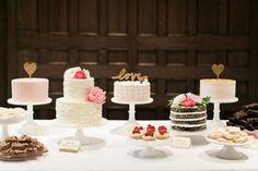 classic cake buffet | Elisabeth Carol