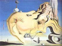 The Great Masturbator - Salvador Dali