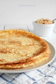 Naleśniki ryżowe - bezglutenowe Gluten Free Recipes, Healthy Recipes, Healthy Food, Dairy Free, Pancakes, Bread, Dishes, Cooking, Breakfast