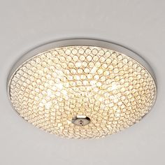 Sparkling Light Show Flush Mount