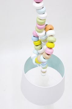 """""""Sugar chain light"""" by Kirstin Overbeck."""