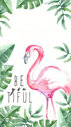 62 New Ideas for wall paper celular bloqueo cute Cute Wallpaper Backgrounds, Wallpaper Quotes, Cute Wallpapers, Iphone Wallpaper, Flamingo Painting, Flamingo Art, Flamingo Wallpaper, Summer Wallpaper, Acrylic Art