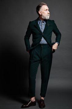 concretemadrid:  TheConcrete Co. MadridRugged TailoringHunter Green Pendleton Wool Suit