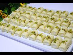 مطبخنا السوري - الشيف ابتسام كامل - YouTube Sweet Cheese Recipe, Cheese Recipes, Arabic Dessert, Cold Desserts, Middle Eastern Recipes, Four, Diy Food, Queso, Sushi