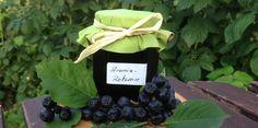 Aronia-Rotwein-Marmelade - ein säuerlich,herber Brotaufstrich