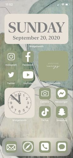 Iphone Home Screen Layout, Iphone App Layout, Iphone App Design, Iphone Icon, Iphone Phone Cases, Iphone Wallpaper Green, Cover App, Iphone Life Hacks, Phone Themes