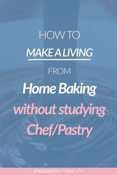It's a TOTAL lie that you need a baking qualification in order to build a successful Home Bakery! Learn how to take control of growing your baking skills - for free and start the Home Bakery… Bakery Business Plan, Writing A Business Plan, Baking Business, Starting A Business, Business Planning, Business Ideas, How To Start A Cake Business From Home, Business Help, Business Class