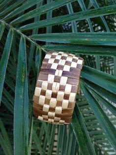 Polynesian Lauhala Bracelet by LiveLoveSurfDesigns on Etsy, $30.00