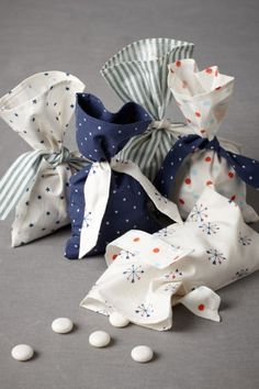 Starboard Favor Bags (10) nautical party