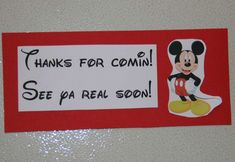 Mickey Mouse Birthday Party Ideas | Photo 6 of 46 | Catch My Party