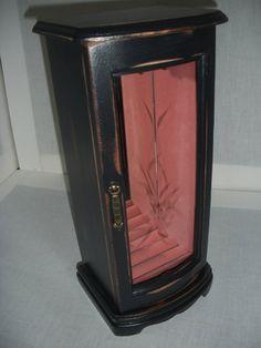 Refurbished Jewelry BoxVintage Jewelry BoxWood by AtticJoys1, $25.00