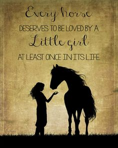 Girl and Horse Silhouette by TL Wilson P. Girl and Horse Silhouette by TL Wilson Photography Every horse deserves to be loved by a little girl at least once in its life. A beautiful sentiment for this textured silhouette of a young girl and her horse. Cute Horses, Pretty Horses, Beautiful Horses, Funny Horses, Equine Quotes, Equestrian Quotes, Horse Riding Quotes, Horse Love Quotes, Wild Horses Quotes