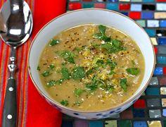 Armenian red lentil soup