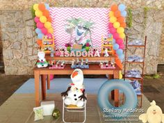 Olaf Summer Party Birthday Party Ideas | Photo 1 of 6 | Catch My Party