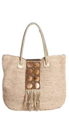Ondade Mar 2014 Embellished Beach Tote Bag B322/CARRY/CR14 | South Beach Swimsuits