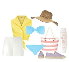 """""""Let's go to the beach"""" by basia-kowalska on Polyvore"""
