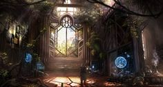 Red's Sanctuary by TheEchoDragon on deviantART