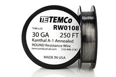 26 Gauge 100 FT Non-Resistance AWG ga TEMCo Stainless Steel Wire SS 316L