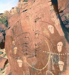 Significant petroglyphs :: El Libertario Aliens And Ufos, Ancient Aliens, Ancient History, Ancient Mysteries, Ancient Artifacts, Ometepe, Arte Tribal, Art Premier, Archaeological Discoveries