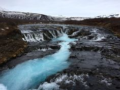 The Mystery Of The Blue Waterfall // Detailed Directions to Brúarfoss, Iceland | Unlocking Kiki